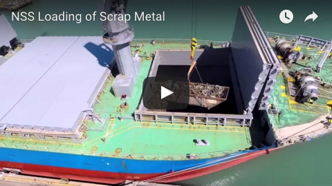 NSS Loading of Scrap Metal