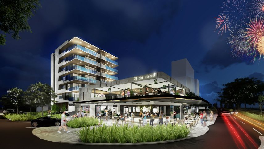 New unit and bar complex planned for The Strand