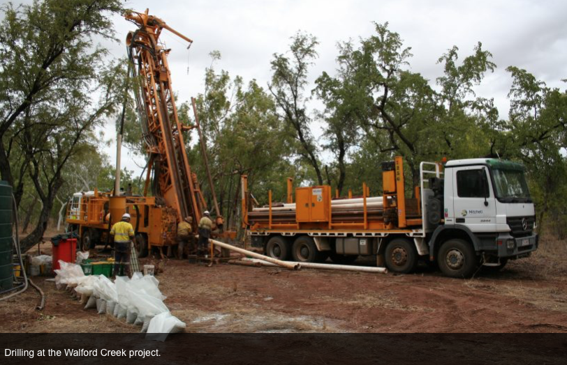 Boost for Walford Creek mineral resource estimate