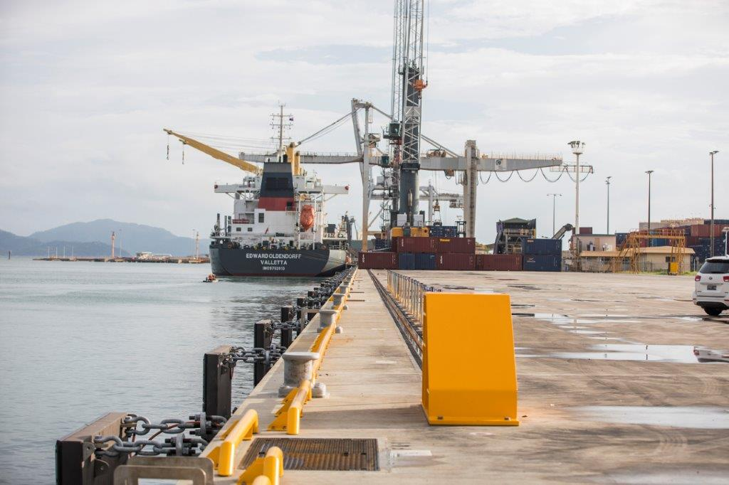 Berth upgrade ranks among top civil works projects