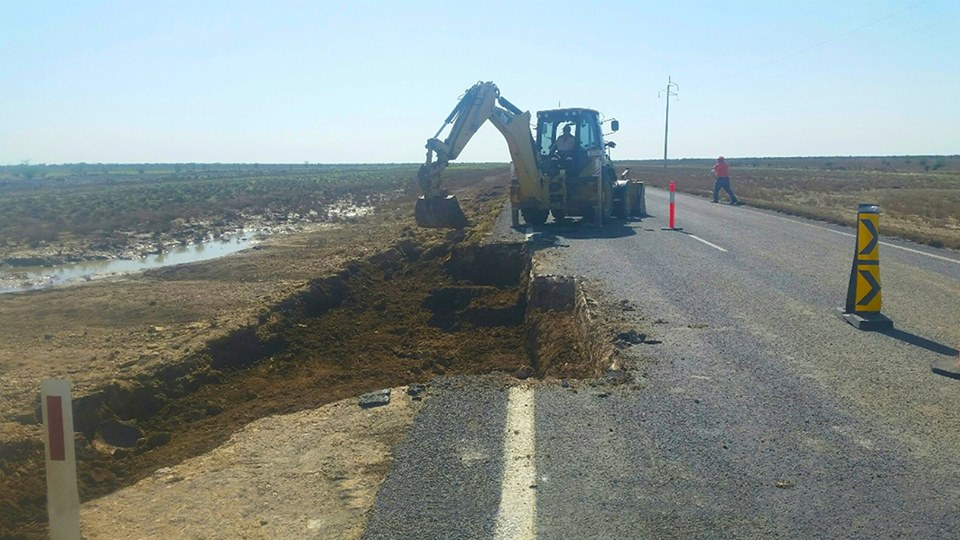 Flinders Highway back in business after flood repairs