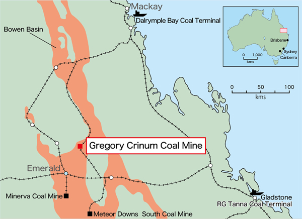 Sojitz gears up to restart Gregory mine