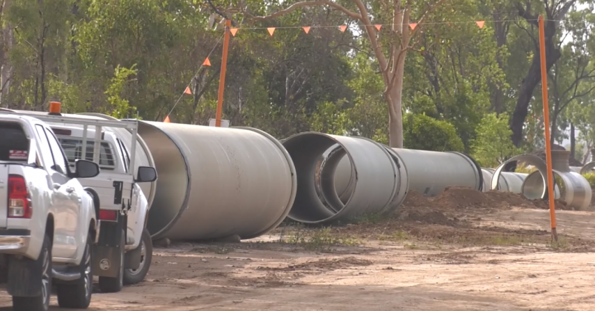 Water pipeline on track for March completion