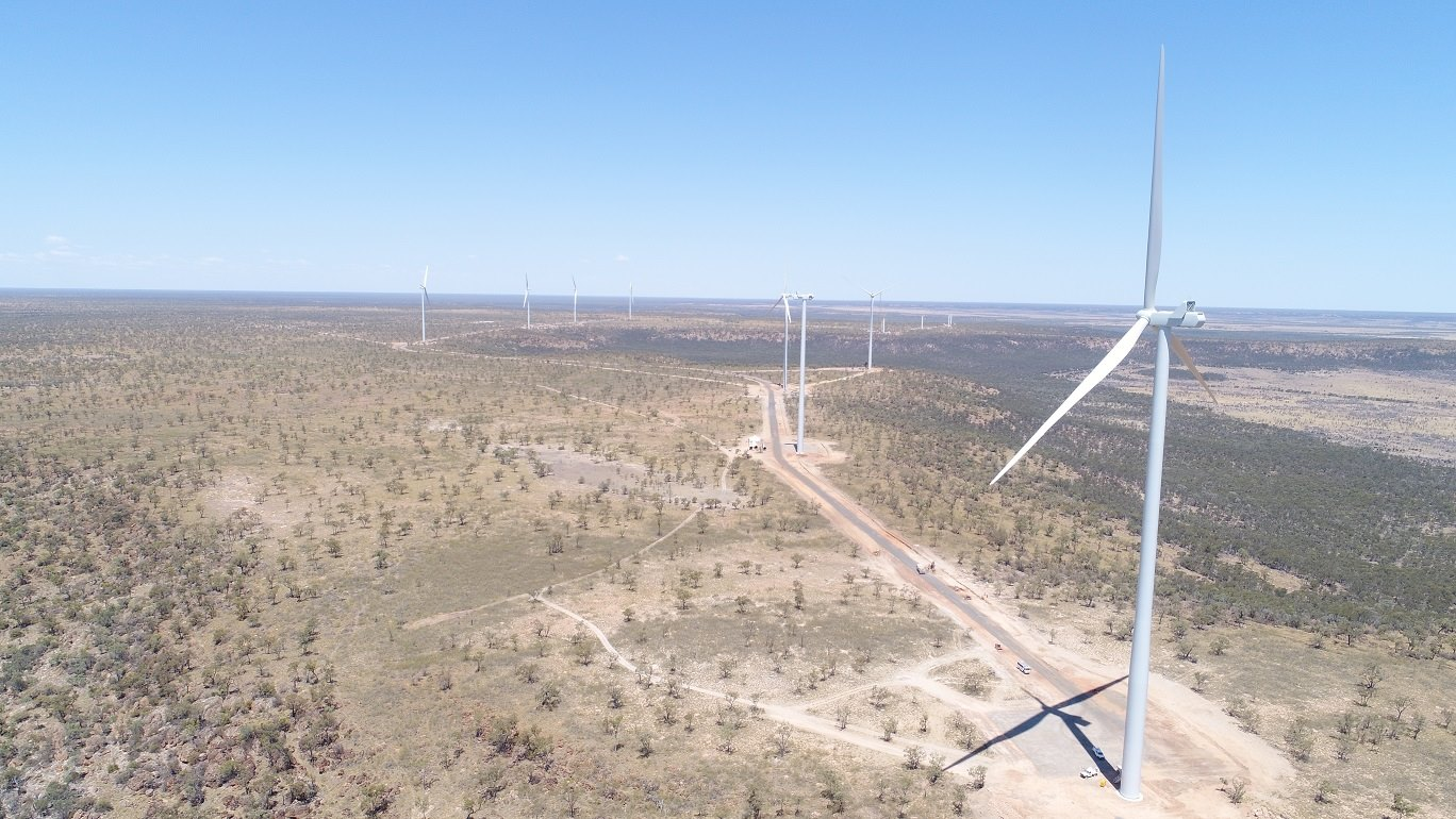 Electric milestone for renewables project