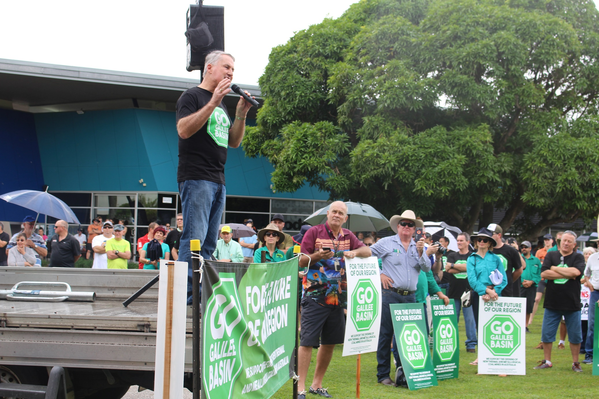 Mackay gears up for Go Galilee Basin rally