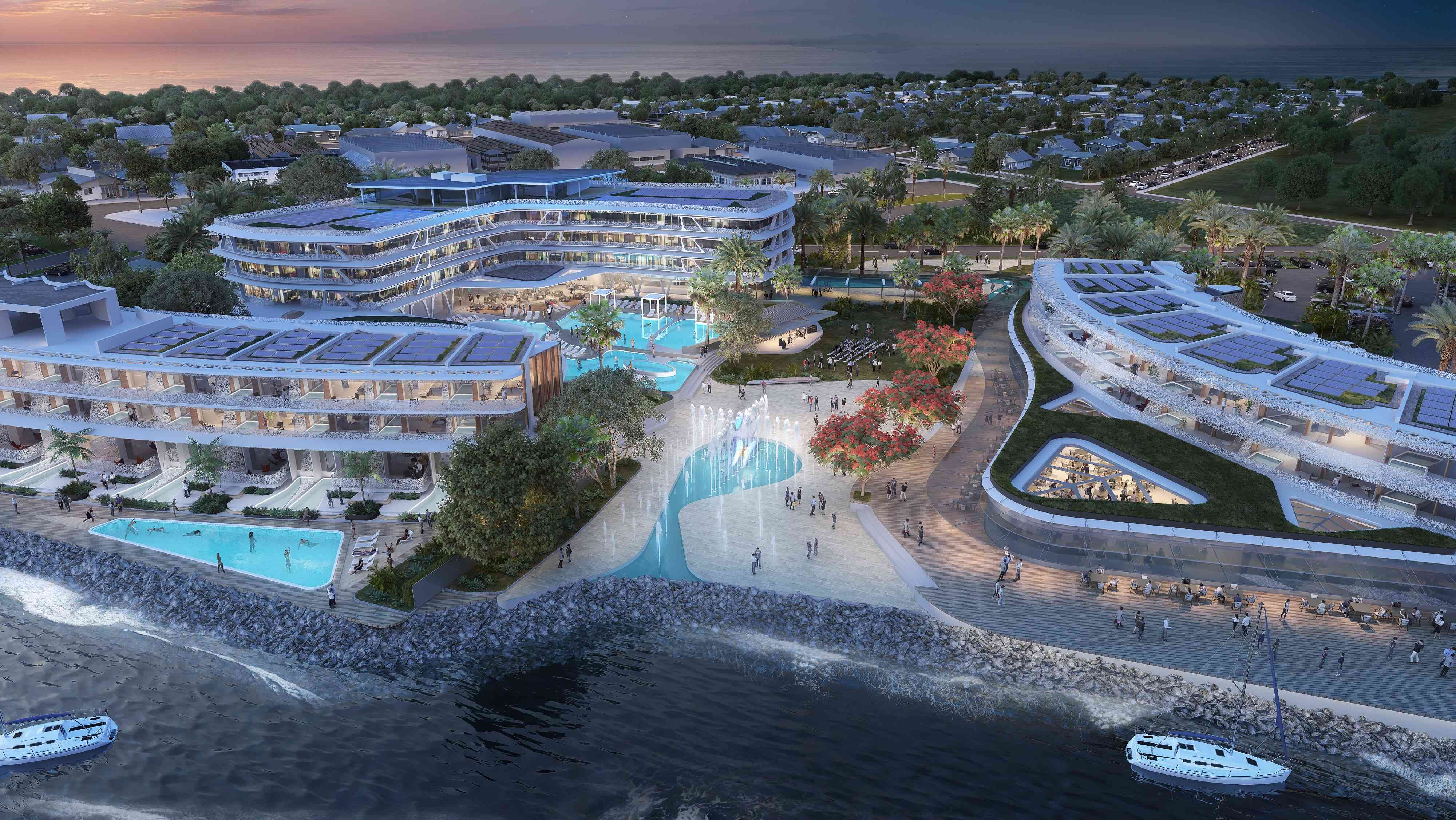 Developer unveils Port Douglas marina plans