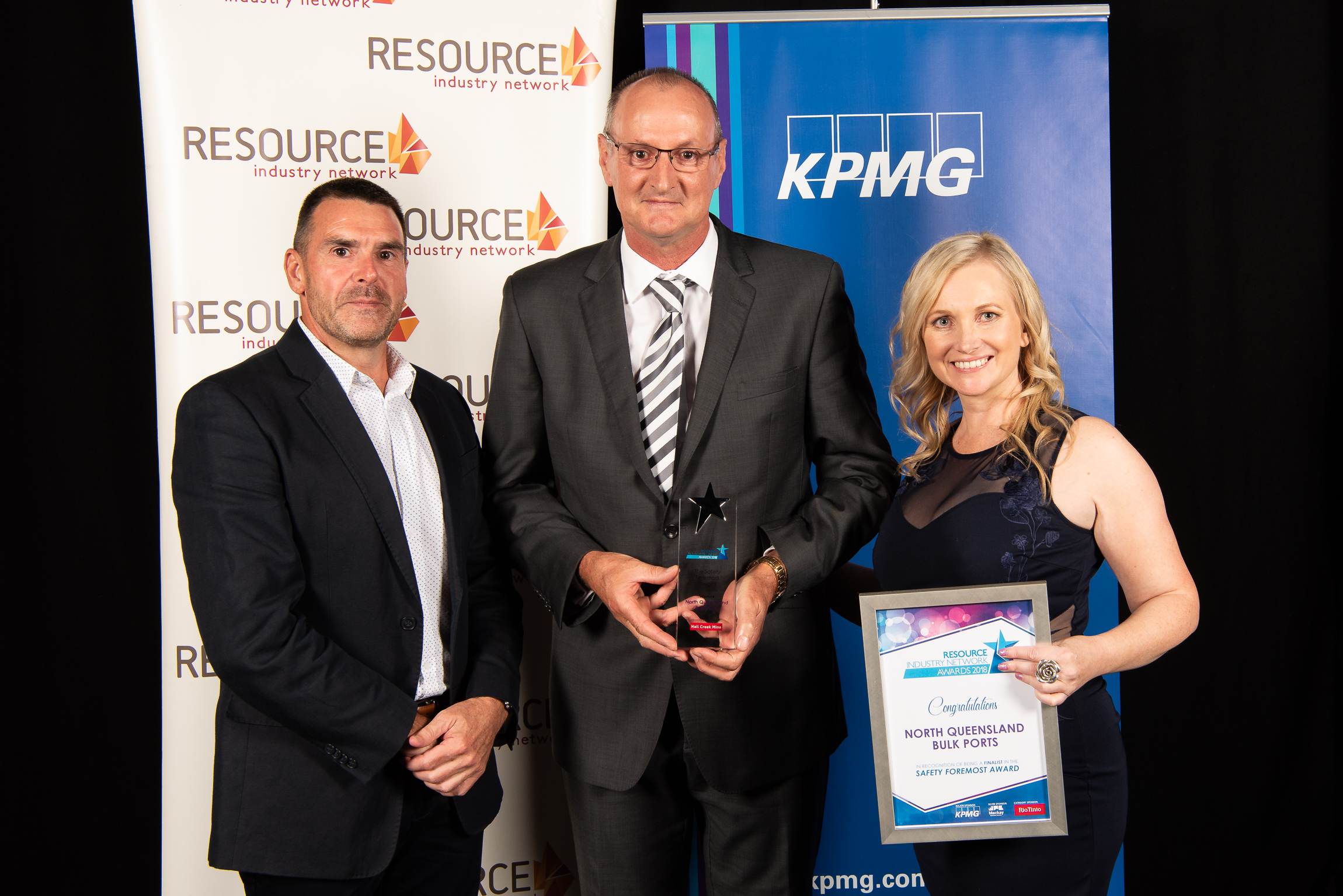 Recognition for resource sector leaders
