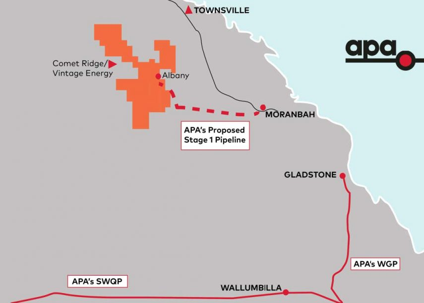 Survey licence a step ahead for Galilee pipeline project