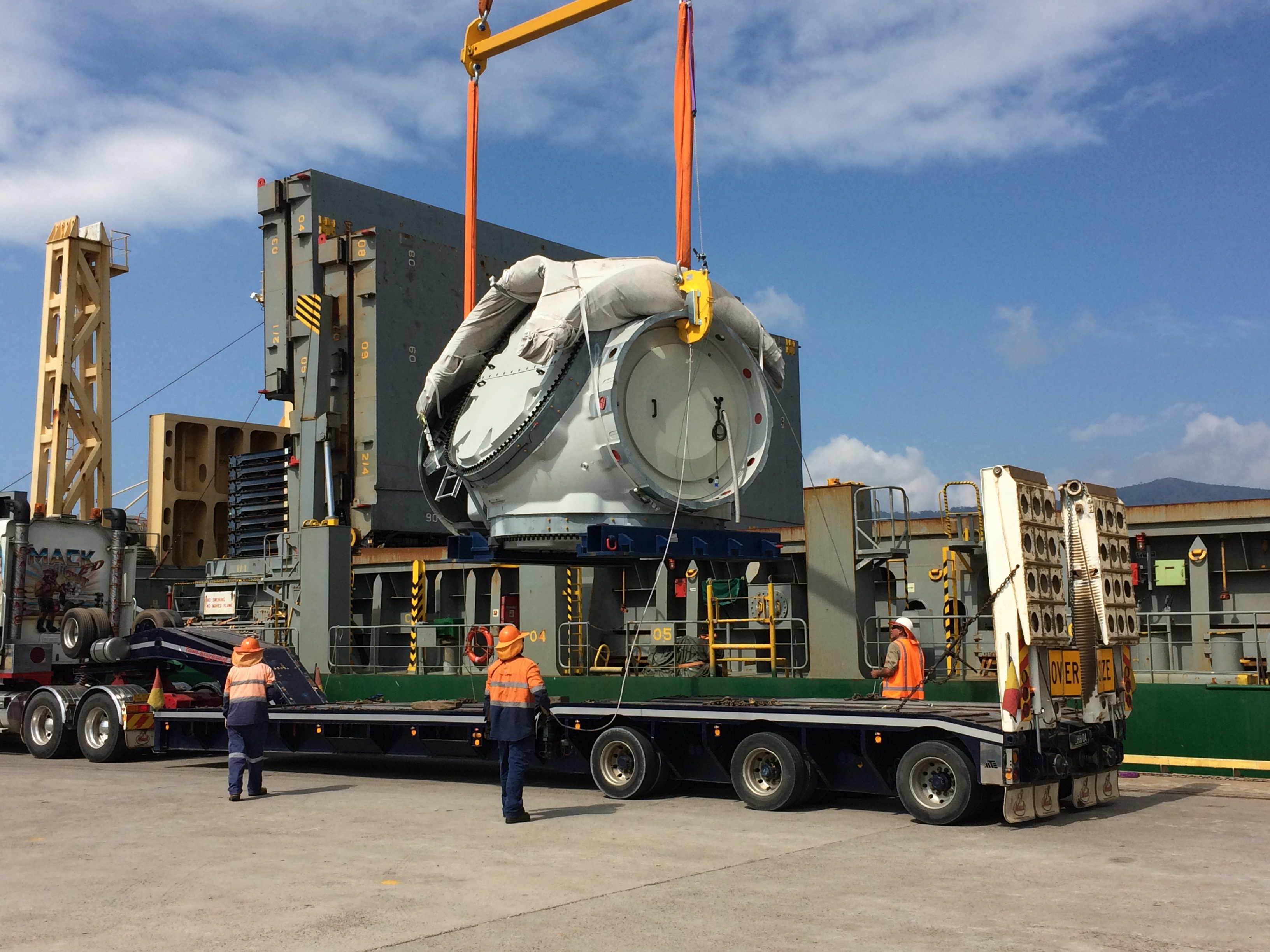 NSS sends more wind farm cargo on its way