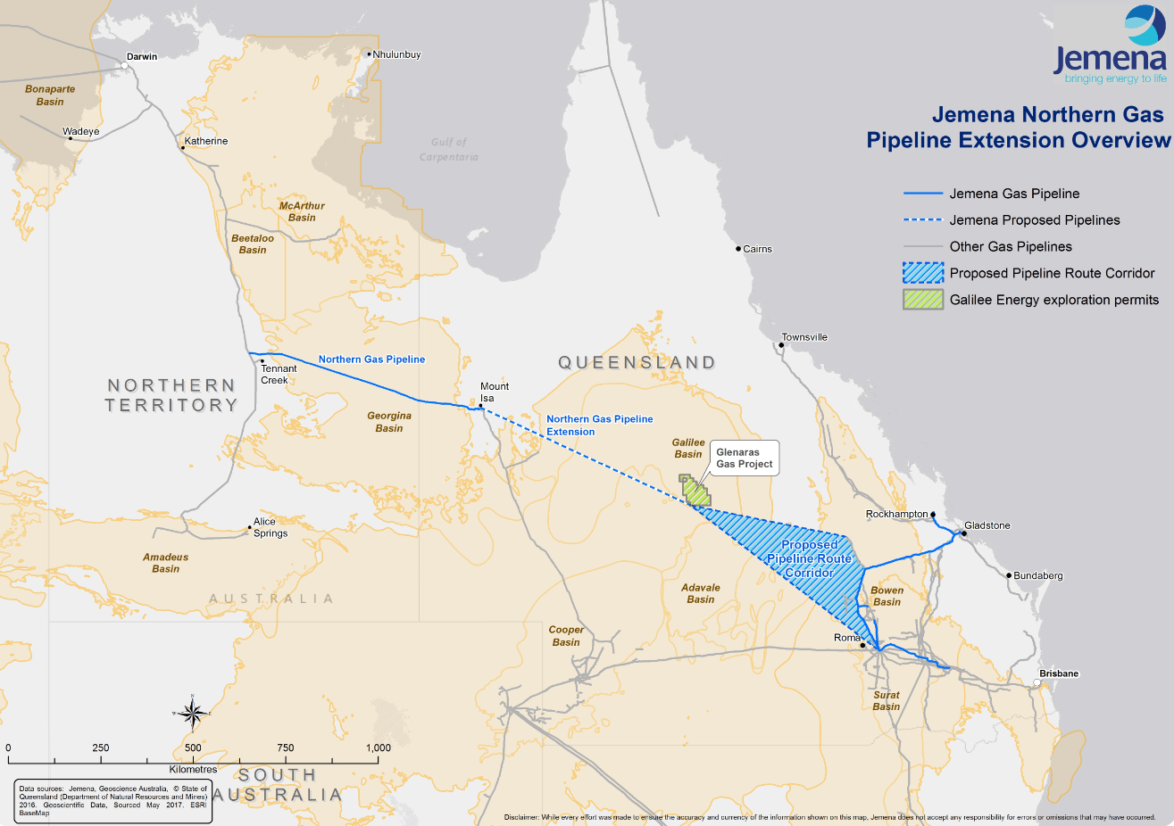 NT gas ignites Queensland business