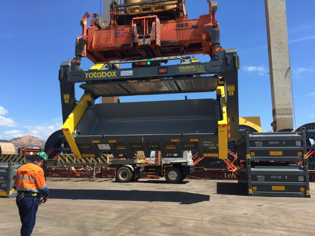 Containers arrive for Dugald River duty