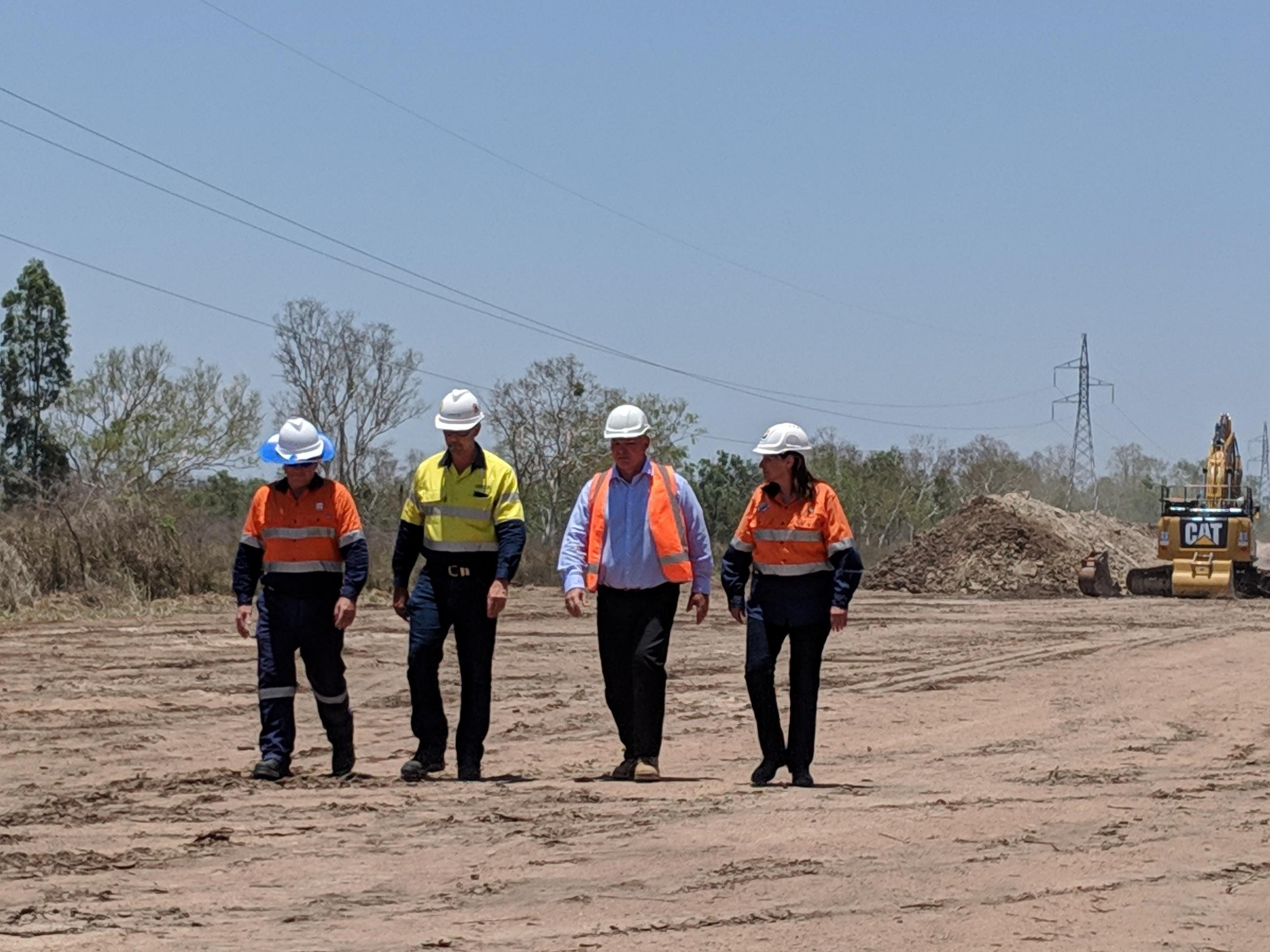 Excavation underway for Townsville pipeline project