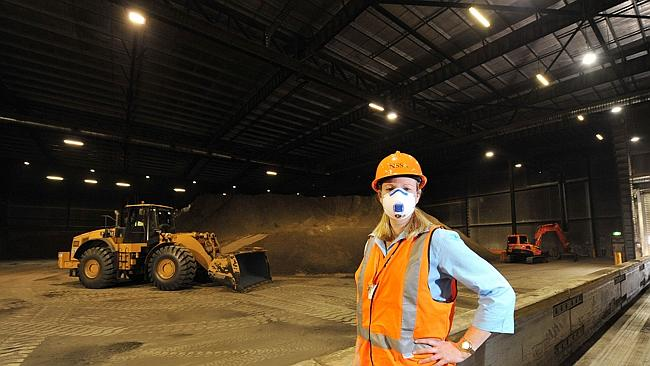 NSS general manager Juliette Sperber at the new warehouse